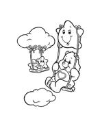 Gli orsetti del cuore da colorare 87