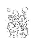 Gli orsetti del cuore da colorare 89