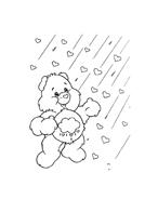 Gli orsetti del cuore da colorare 93