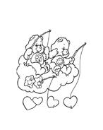 Gli orsetti del cuore da colorare 94