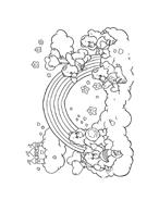 Gli orsetti del cuore da colorare 102