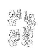 Gli orsetti del cuore da colorare 104