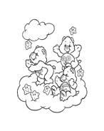 Gli orsetti del cuore da colorare 105