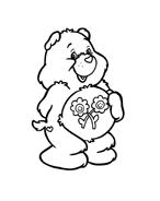 Gli orsetti del cuore da colorare 108