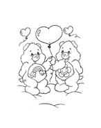 Gli orsetti del cuore da colorare 109