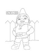 Gnomeo e Giulietta da colorare 2