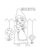 Gnomeo e Giulietta da colorare 3