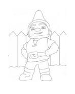 Gnomeo e Giulietta da colorare 9