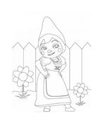 Gnomeo e Giulietta da colorare 11