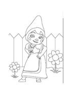 Gnomeo e Giulietta da colorare 12