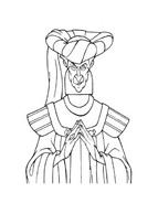 Il gobbo di Notre Dame da colorare 3