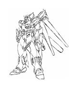 Gundam da colorare
