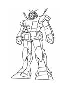 Gundam da colorare 3