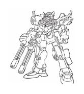 Gundam da colorare 4