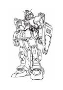 Gundam da colorare 6
