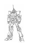 Gundam da colorare 7