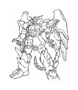 Gundam da colorare 8
