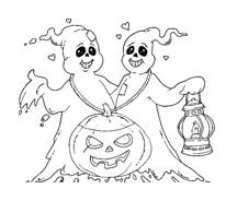 Halloween da colorare 100