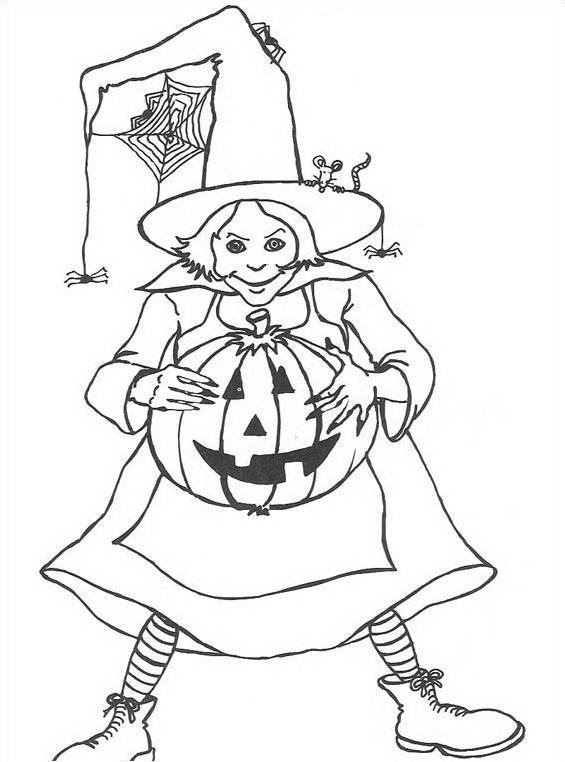 Halloween da colorare 192