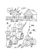 Halloween da colorare 199