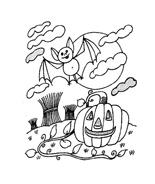 Halloween da colorare 264