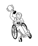 Disabile da colorare 9