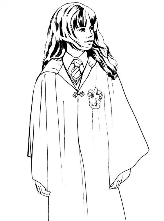 Harry potter da colorare 2
