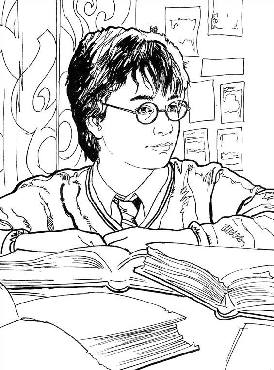 Harry potter da colorare 20