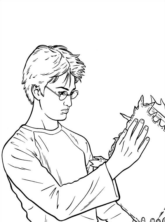Harry potter da colorare 26