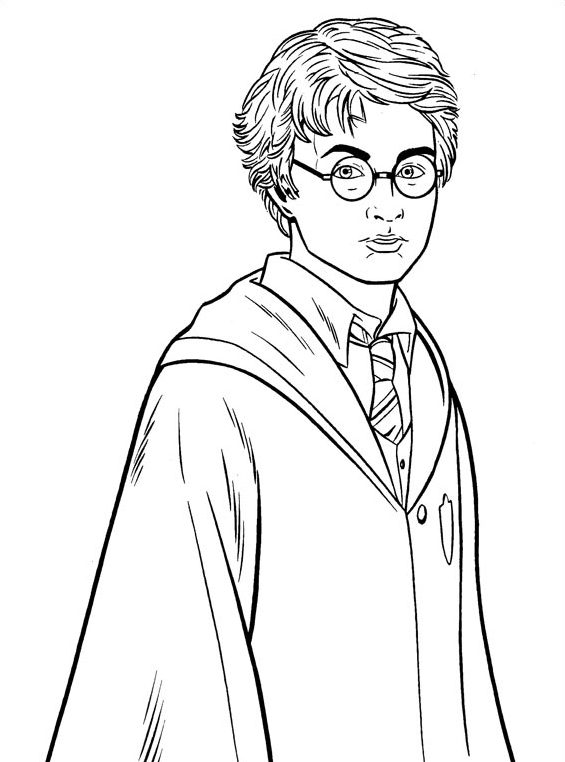 Harry potter da colorare 27