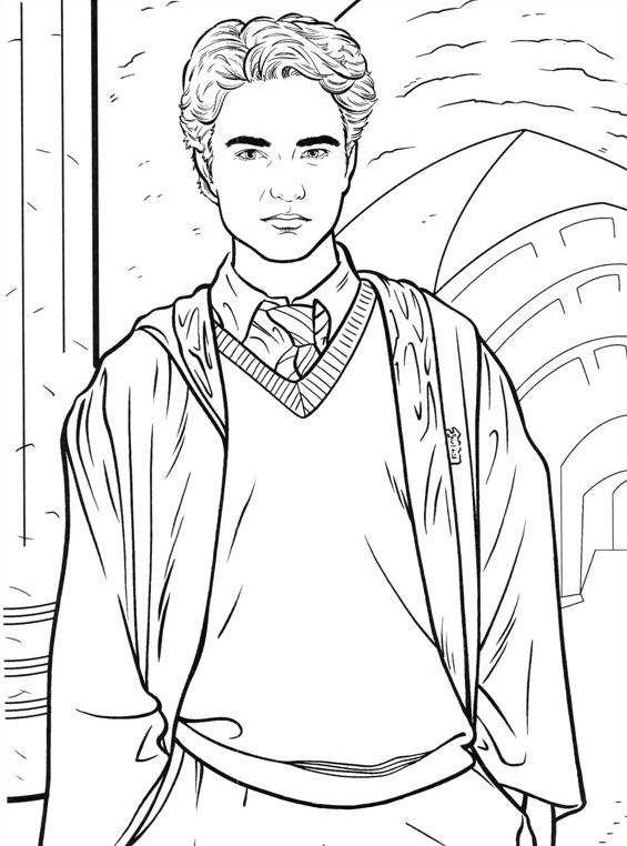 Harry potter da colorare 38