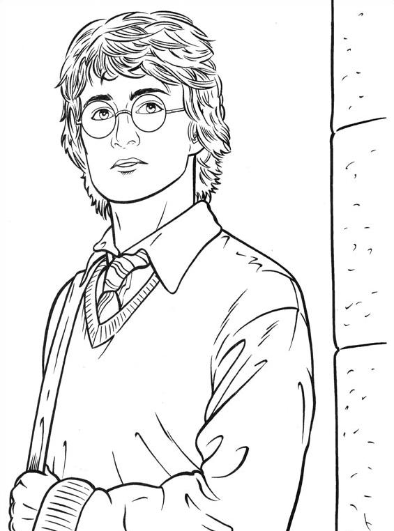 Harry potter da colorare 49