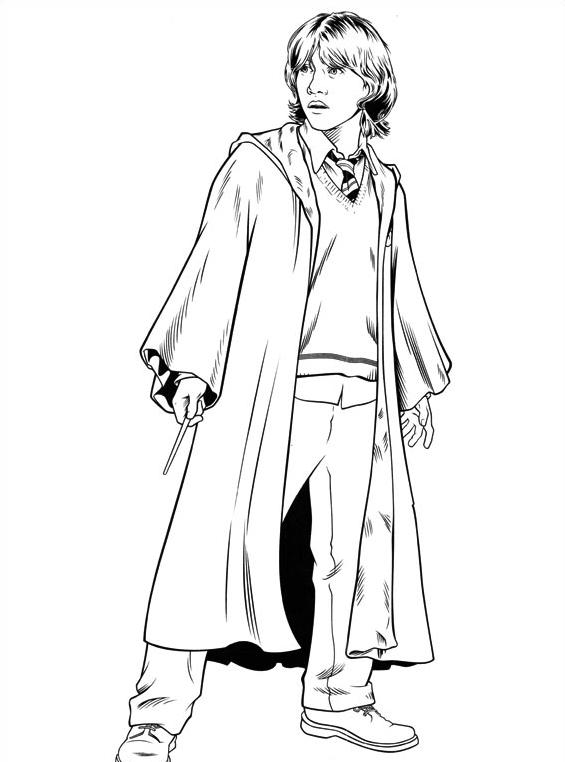 Harry potter da colorare 54