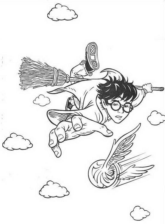 Harry potter da colorare 65