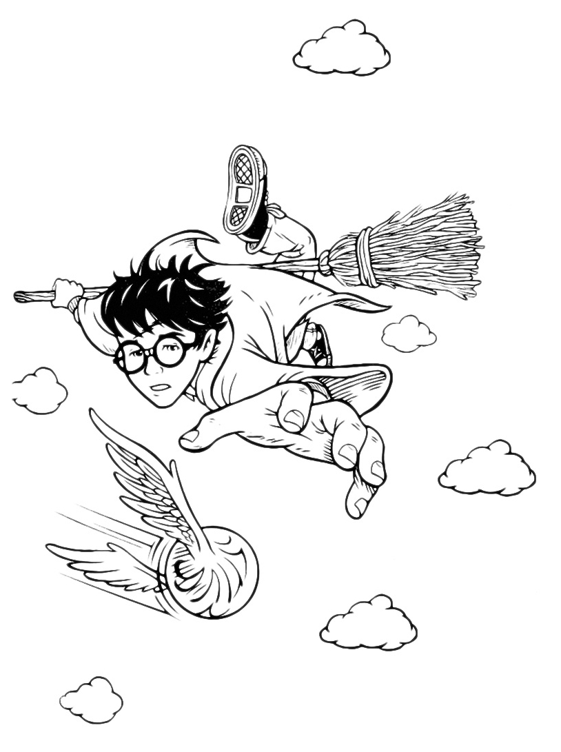 Harry potter da colorare 85
