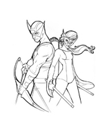 The Avengers da colorare 21