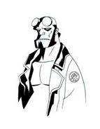 Hellboy da colorare