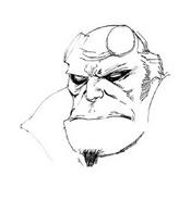 Hellboy da colorare 5