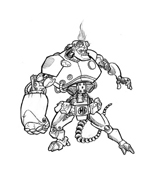 Hellboy da colorare 10