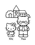 Hello kitty da colorare 19