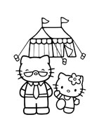 Hello kitty da colorare 20
