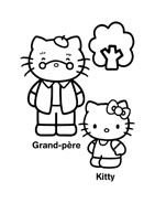 Hello kitty da colorare 24
