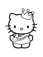 Hello kitty da colorare 33