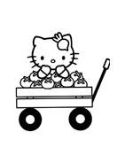 Hello kitty da colorare 34