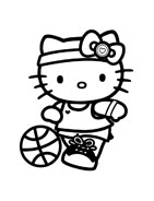 Hello kitty da colorare 35