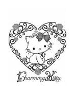 Hello kitty da colorare 41