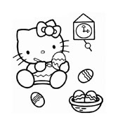 Hello kitty da colorare 50