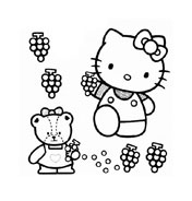 Hello kitty da colorare 53