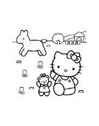 Hello kitty da colorare 61