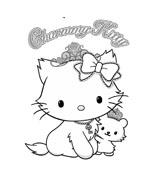 Hello kitty da colorare 63